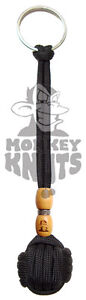 Monkey-Knuts-Monkey-Fist-Knot-Keychain-Self-Defense-550-Paracord-Key-Fob-DK36