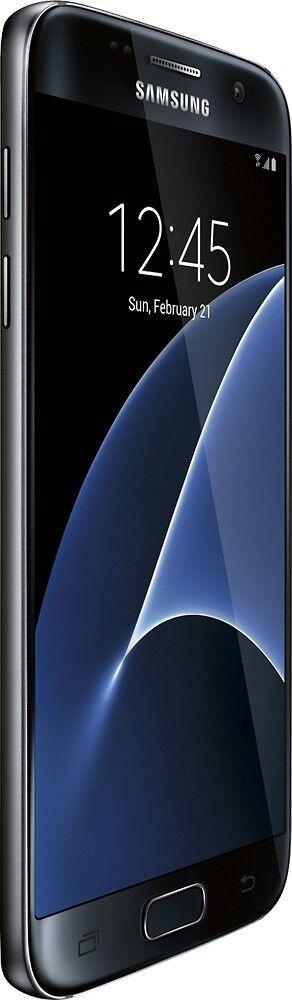 Android Phone - Unlocked Samsung Galaxy S7 SM-G930 4G LTE - 32GB - Black Onyx Phone LCD Shadow
