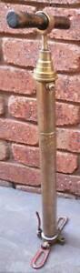 Vintage brass RENRUT brand tyre pump Wangaratta Wangaratta Area Preview