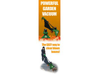 Portek Shred & Vac Leaf Vacuum