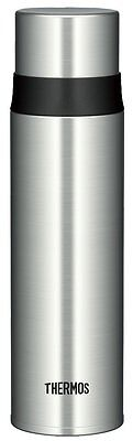 Thermos FFM-500 SBK Stainless Slim Bottle 0.5L Silver Japan Import Free shipping