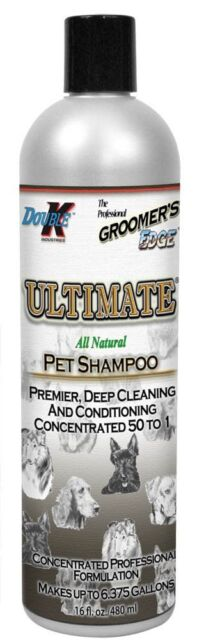 """""""ULTIMATE"""" DOUBLE K CONCENTRATE D DOG SHAMPOO 473ml."""
