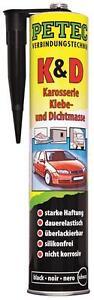 PETEC K&D SCHWARZ-Karosseriekleber 310 ml Profi-Produkt Art.-Nr.94730