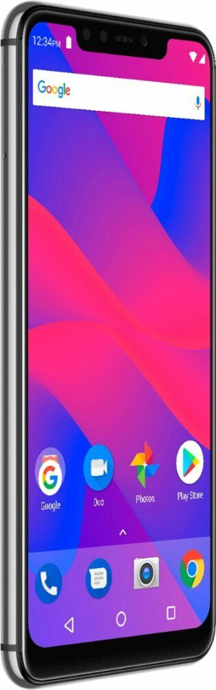 "Android Phone -  BLU Vivo XI V0330WW 32GB 3GB GSM Factory Unlocked Silver 5.9 "" Android 8.1"