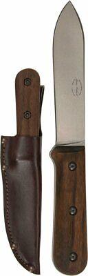 "KA-BAR BK62 Becker Kephart Fixed Blade Knife 5.125"" 1095 Stonewashed Spear Point"