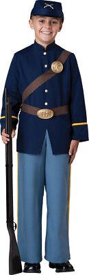 Boys Civil War Union Soldier Halloween Costume