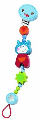 HABA Lollipop Cow Pacifier Chain Holder - Haba Pacifier Chain