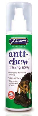 Johnson's Anti Chew Training Spray. Bitter Repellent Spray for Dogs Multi Deals Anti Chew Repellent