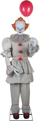 PRE-ORDER** HALLOWEEN LIFE SIZE ANIMATED PENNYWISE IT CLOWN PROP STEPHEN KING