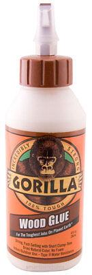 Gorilla Wood Glue 8oz 236ml No Foam Water Resistant Natural Color Inoutdoor