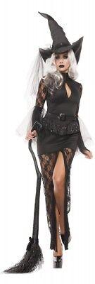 Damen-Kostüm Glamouröse Hexe Halloween Böse Königin Witch Stiefmutter - Böse Stiefmutter Kostüm