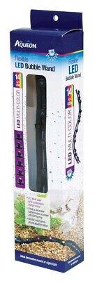 Aqueon Flexible LED Bubble Wand Multi-Color Lights Aquarium Decor 14 inch