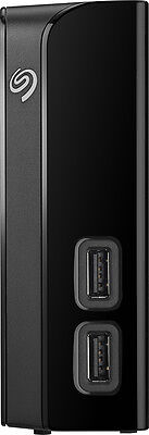 Seagate - Backup Plus Hub 8TB External USB 3.0 Desktop Hard Drive - Black