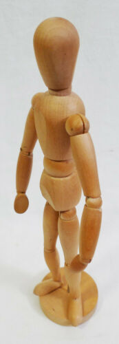 Wooden Posable Artist Mannequin Doll Figurine
