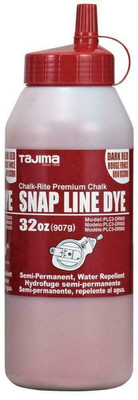 TAJIMA PLC3-DR900 32oz Snap Line Dye, Dark Red