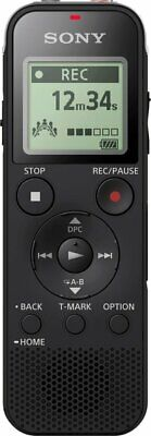 Sony Mono Digital Voice Recorder with Built-in USB - Black - ICDPX470