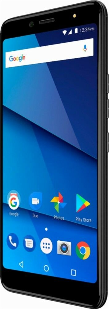 BLU Vivo One PLUS V0290WW 16GB Black Dual Sim factory Unlocked smartphone