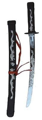 Ninja Schwert für Kostüm Kämpfer Japaner Asiat (Schwert Kämpfer Kostüm)
