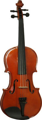 Valentino VVG-100, 3/4 (three quarter) size VIOLIN OUTFIT with case and bow.