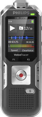 Philips Dvt6010 Digital Voice Recorder - 8 Gb - Up To 12 Hrs
