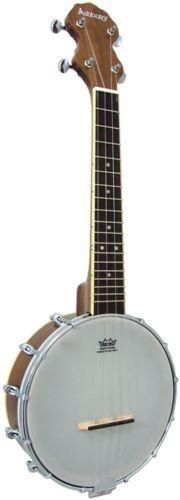 Ashbury AB-38     Ukulele Banjo        WALNUT  ( LOCAL COLLECTION ONLY )