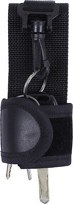 Police Security Law Enforcement Emt Tactical Duty Belt Silent Key Holder 10582