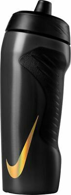 Nike Hyperfuel Water Bottle - Sports Water Bottle - Black - 18oz