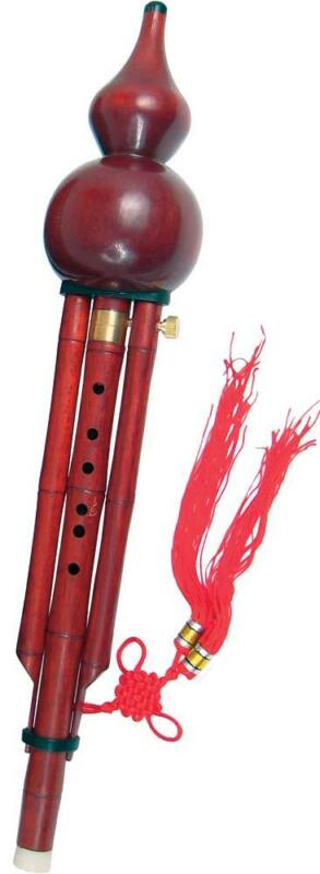 Atlas wooden HULUSI. Traditional chinese instrument in Bb. Great fun to play