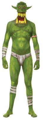 Verkleidung Kiefer Heruntergefallen Grün Erwachsene Kostüm Monster - Morph Anzug Kostüm