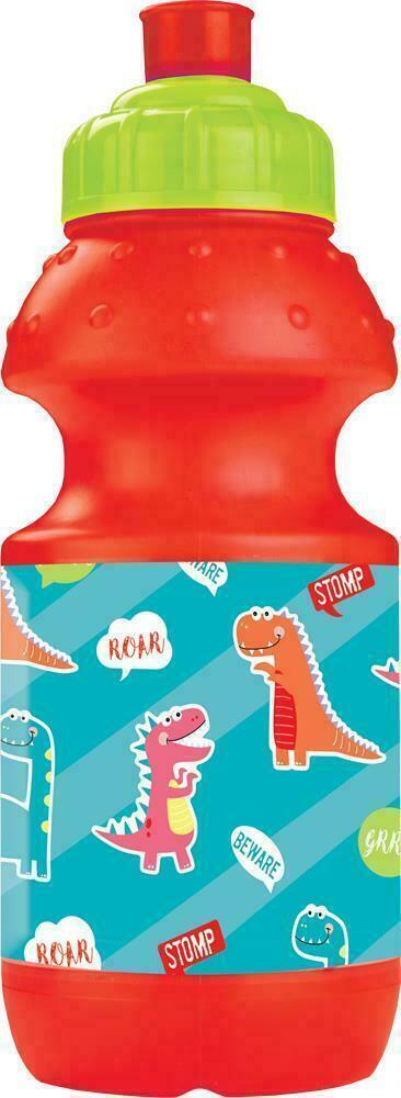 kids dinosaur water bottle drinks juice childrens