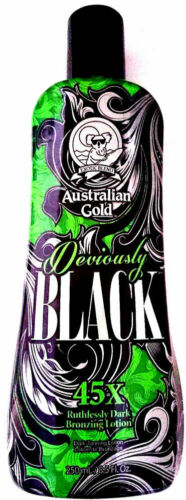 Australian Gold Deviously Black 45x Dark Bronzing Indoor Tanning Bed Lotion