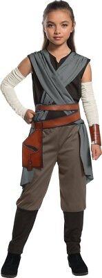 Rey Star Wars VIII Kinderkostüm NEU - Mädchen Karneval Fasching Verkleidung Kost (Mädchen Star Wars Kostüm)