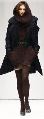 NOLITA Piumino TRENCH Cappotto Lungo Donna 40 NEROWomen Long Padded jacket Coat