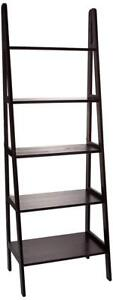 NEW  Casual Home 5 Shelf Ladder Bookcase, Espresso Condition: New