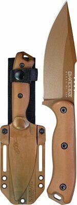 """Ka-Bar Becker Harpoon Knife + Celcon Sheath, 4.5"""" Blade, Made in USA #BK18"""