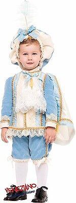Italienische Herstellung Jungen Reich Blau Tudor Prince Karneval - Karneval Kostüm Hersteller