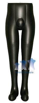 Inflatable Mannequin Male Leg Form Black