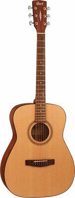 Cort AF505 Acoustic Guitar, concert size. Open pore finish. Spruce top
