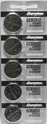 Energizer ECR2032 (CR2032) 3V Lithium Coin Batteries (1 pack of 5)