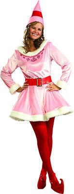 Deluxe Jovie Girl Friend Elf Adult Costume - Elf Girl Costume