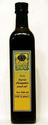 Steirer Gold 100% Pure Styrian Pumpkin Seed Oil 500ml
