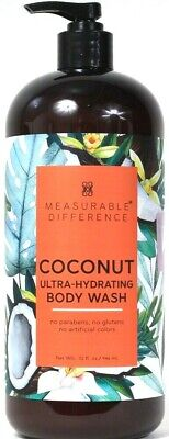 1 Ct Measurable Difference 32 Oz Coconut Ultra Hydrating Body Wash With -