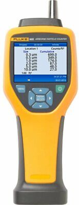 Fluke 985 Particle Counters - Style Iaq Portable Minimum Particle Size 0.3