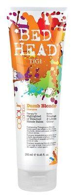 Tigi Bed Head Color Combat Dumb Blonde Shampoo 8. 45 oz ()