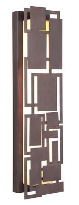 Craftmade Oak Park LED 22 inch Aged Bronze Wall Sconce Wall Light