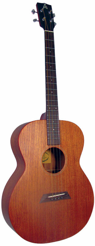 Ashbury AT-24 TENOR GUITAR, All Solid Sapele. Irish-Tuned CGDA. From Hobgoblin