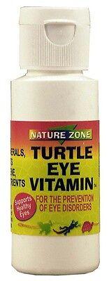 Nature Zone Turtle Eye Vitamin 2oz (Free Shipping in USA) Turtle Eye Vitamins