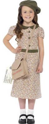 Girls WW2 Evacuee Fancy Dress - Evacuee Fancy Dress Kostüme