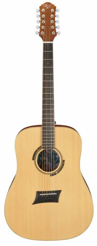 Triad 10E Gloss Electro Acoustic Guitar 10 String: Electro Acoustic Guitar