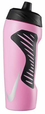 Nike Hyperfuel Water Bottle 18oz - Pink Rise/Black/Black/Iridescent